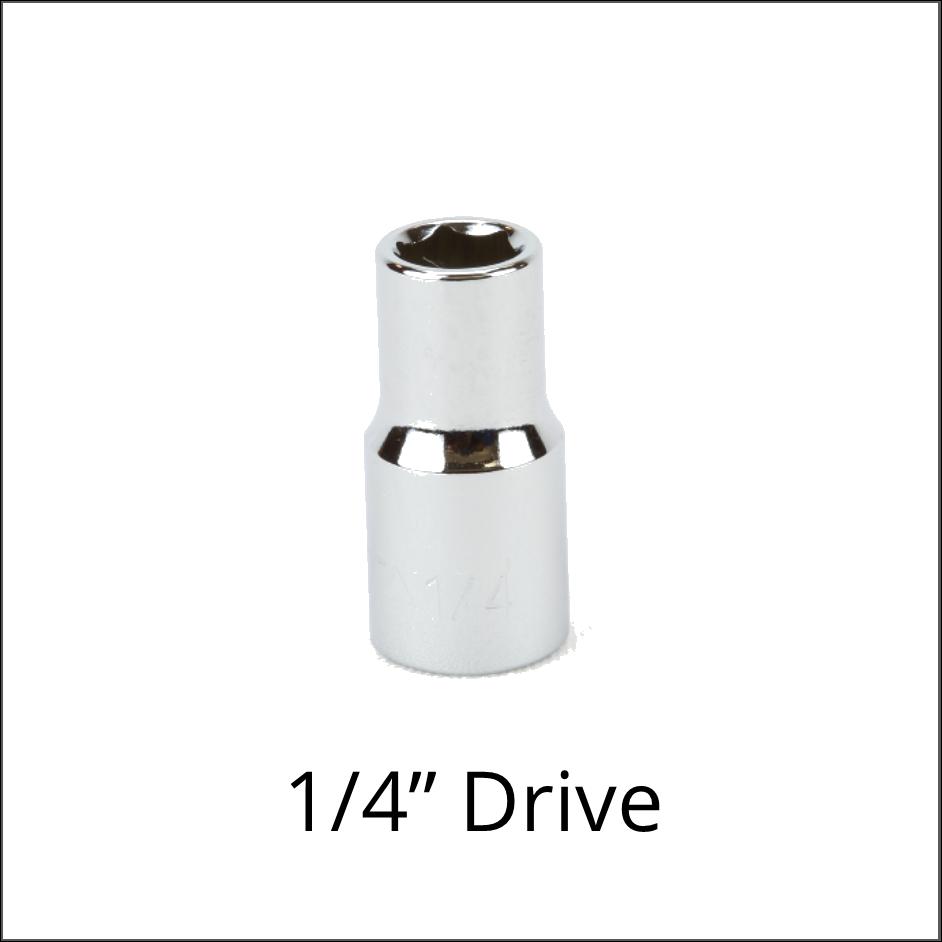 "Sockets 1/4"" Drive"