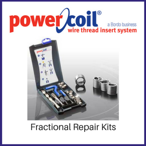 Power Coil Fractional Wire Thread Inserts Repair Kits