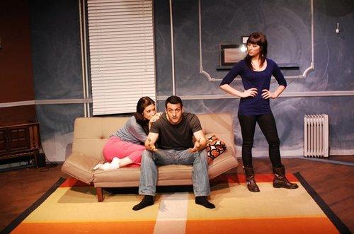 Jenni Halina with Isidora Goreshter (Shameless) and Jeff Cannata