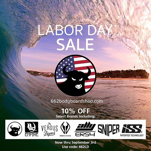 It's Labor Weekend in the USA & 662 are having their annual  Labor Day sale. Get a great deal on tons of products including the full range of ISS stringers.