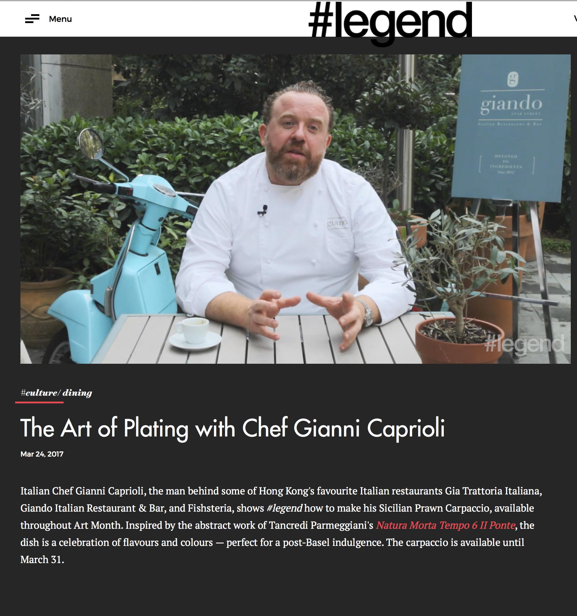 HashtagLegend interview Gianni Caprioli