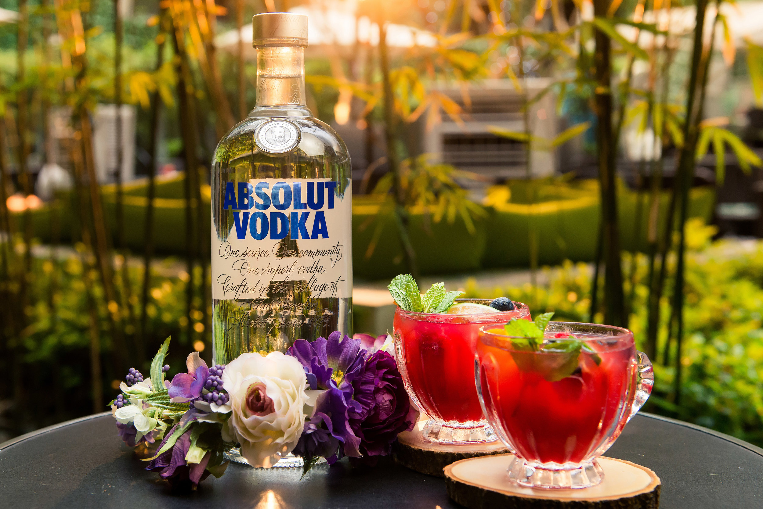 The Absolut Punch Bowl at Vibes, Mira Hotel