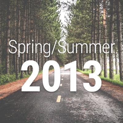 Spring/Summer 2013 Newsletter