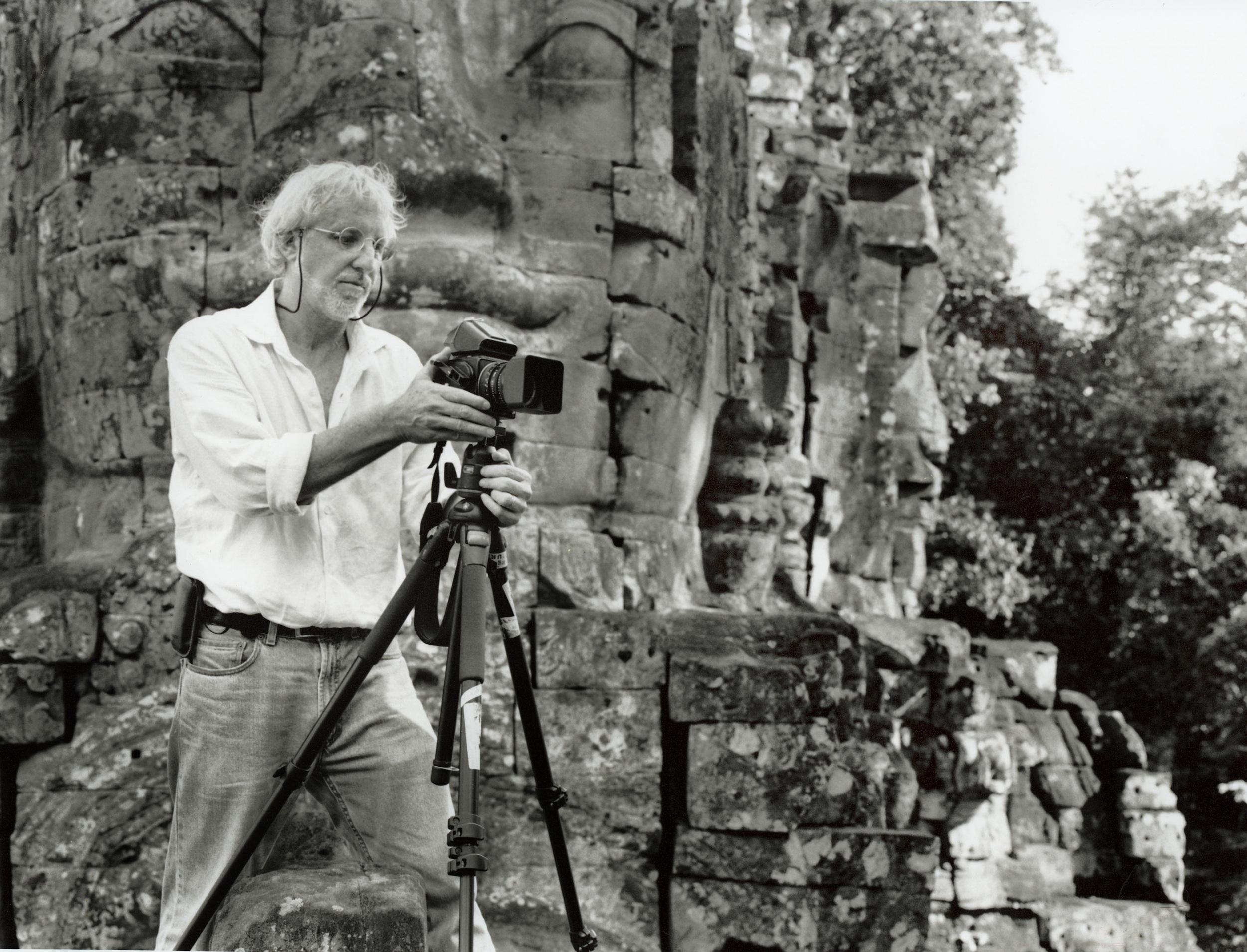 John McDermott at Angkor