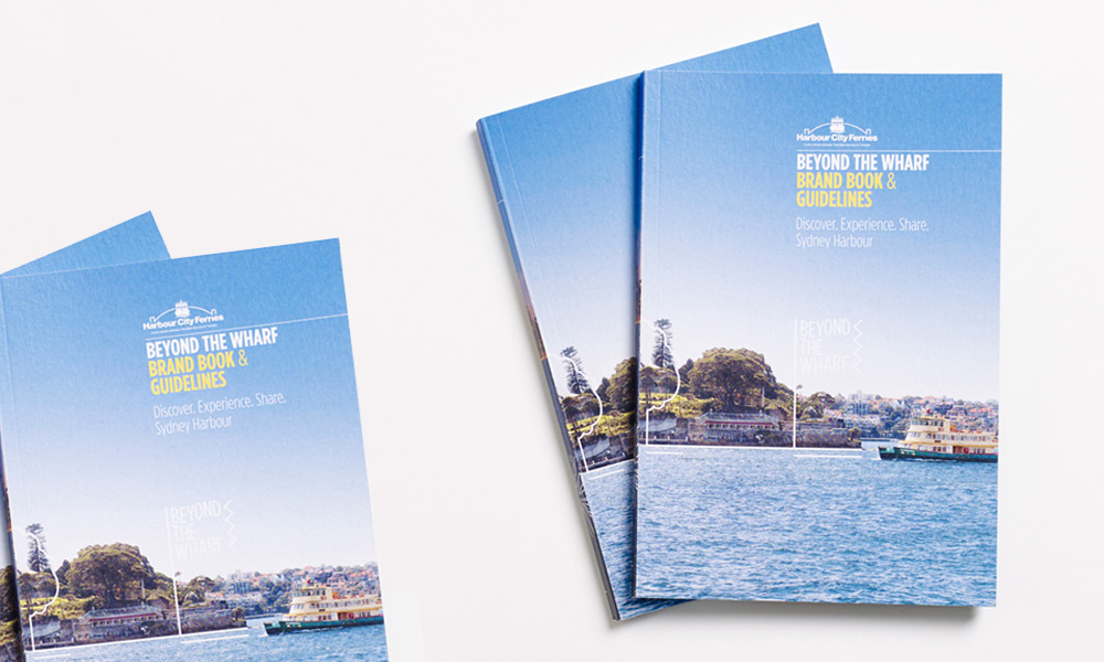 Brand Guidelines Beyond The Wharf Harbour City Ferries