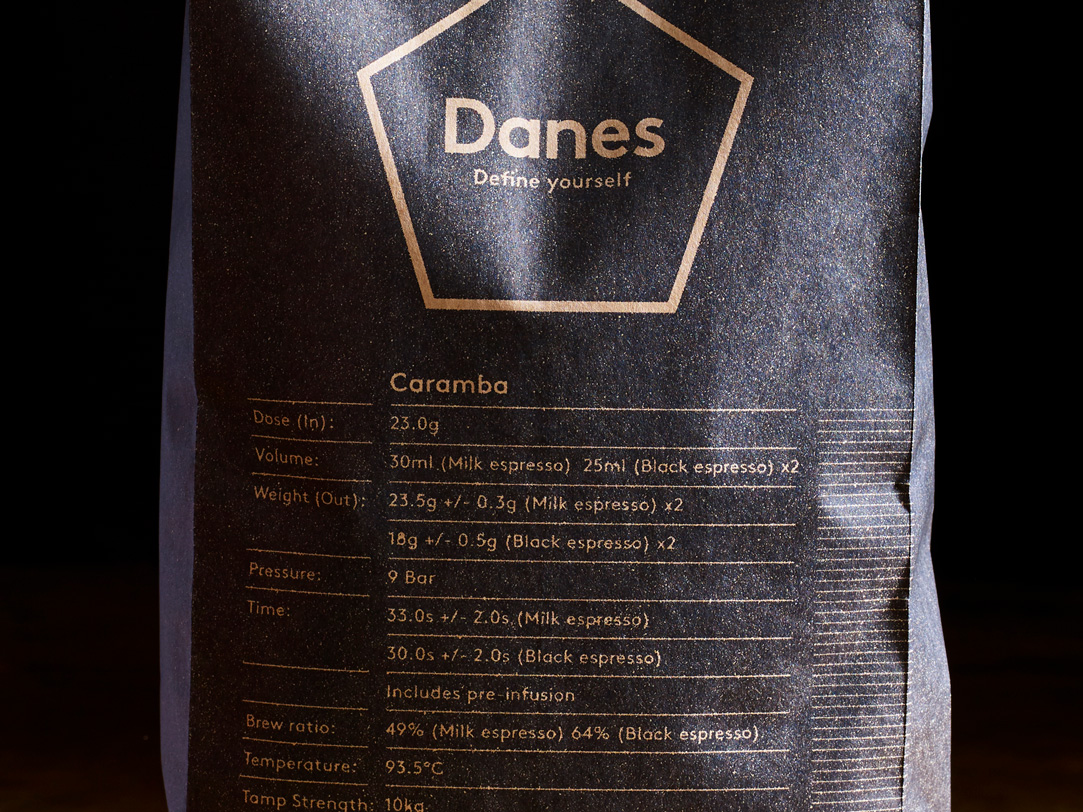 Danes R&D teams provided an exacting recipe for the barista to measure their craft and process against.