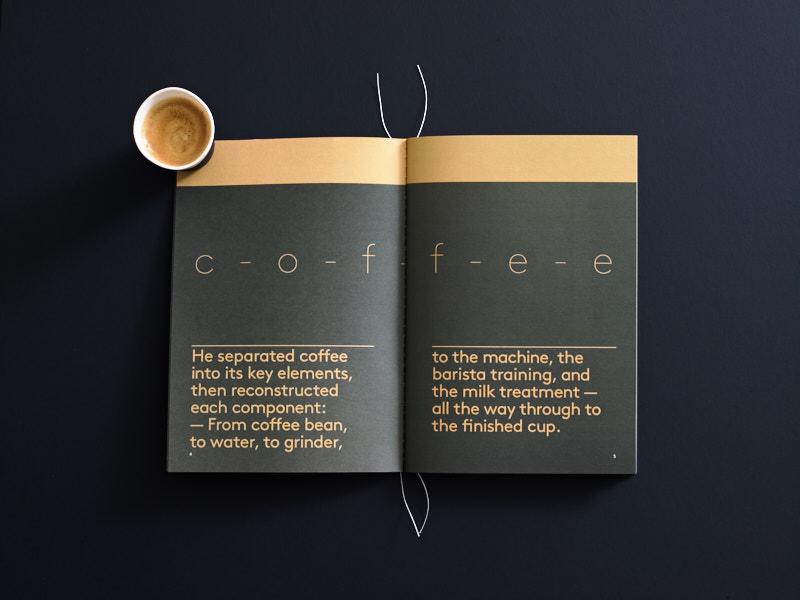 Danes Brochure Coffee spread