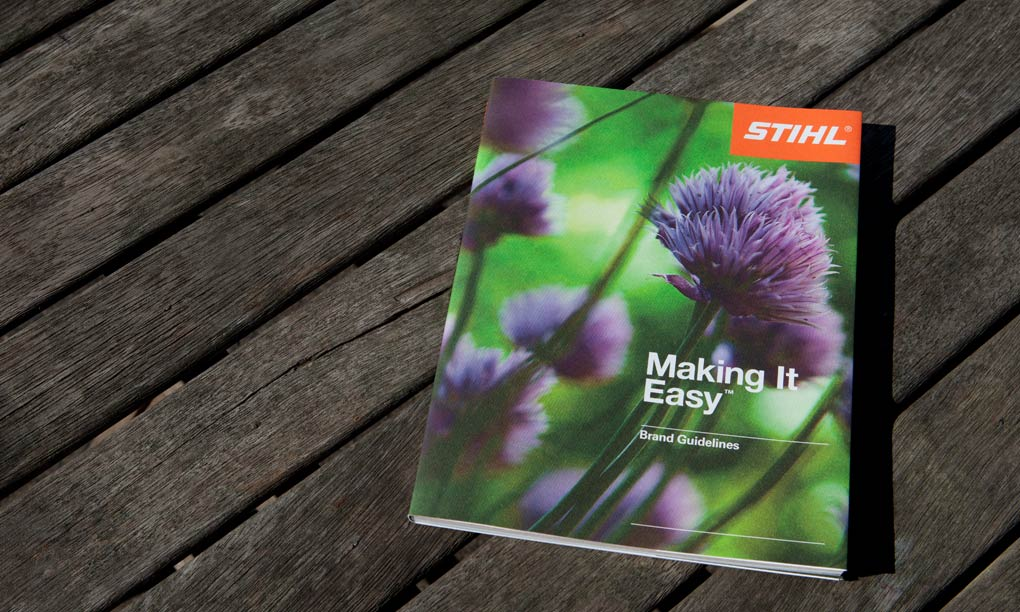 STIHL brand Guidelines Cover
