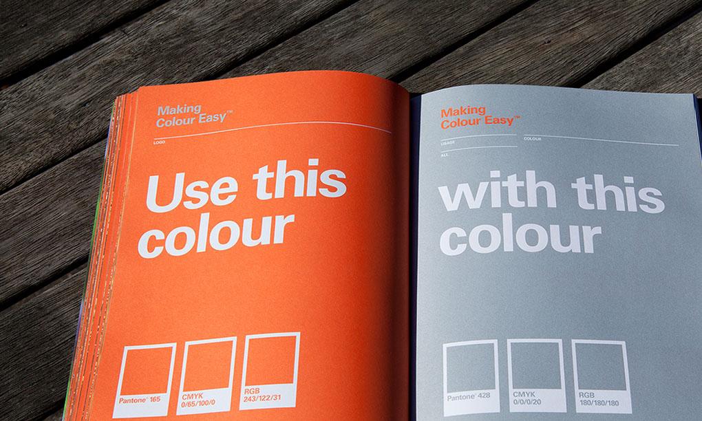 STIHL Brand Guidelines Colour
