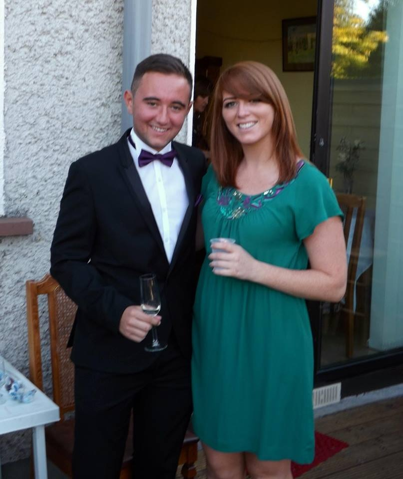 The day before I started following the Paleo diet - my brother's debs.