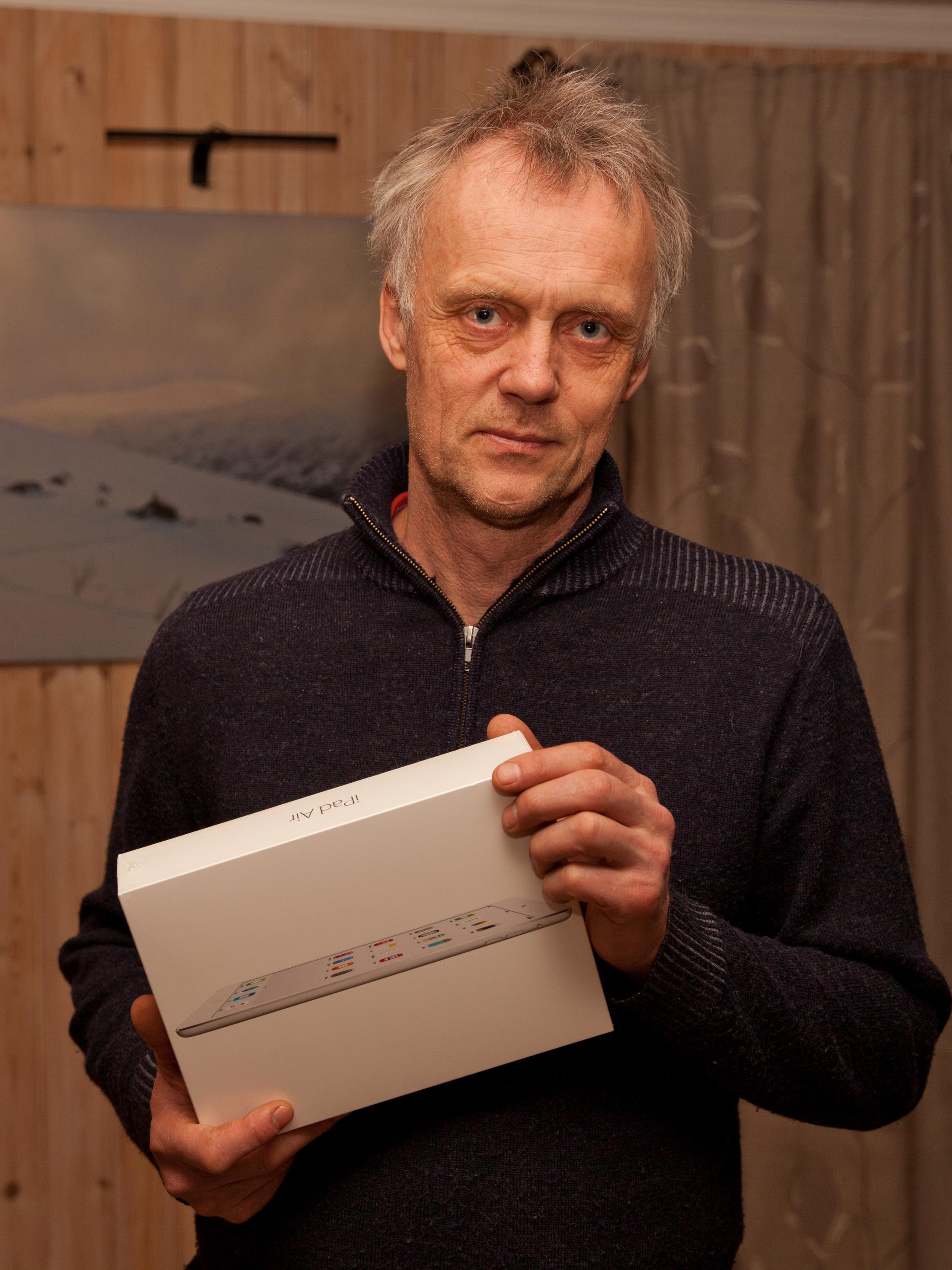Vinnar av del I: Hans Inge Thyri frå Lærdal