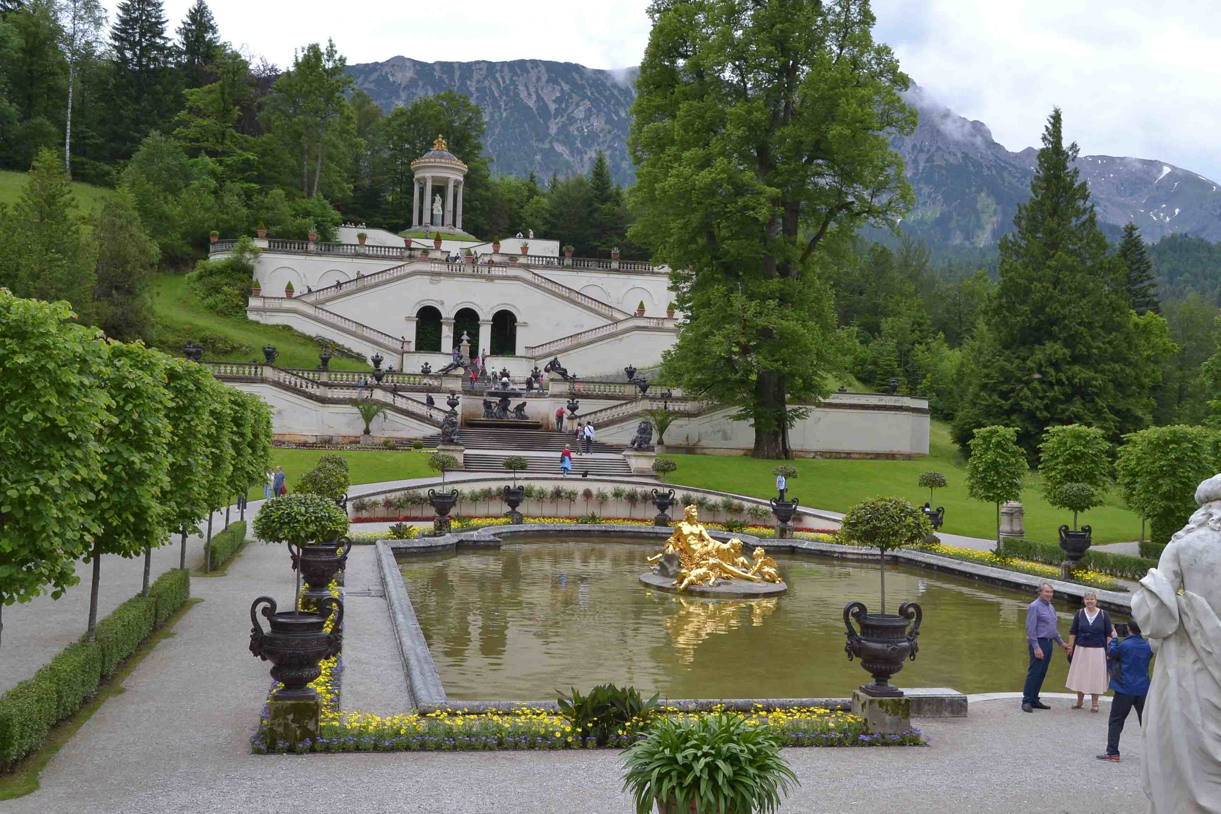 Formal Gardens in front of the Palace