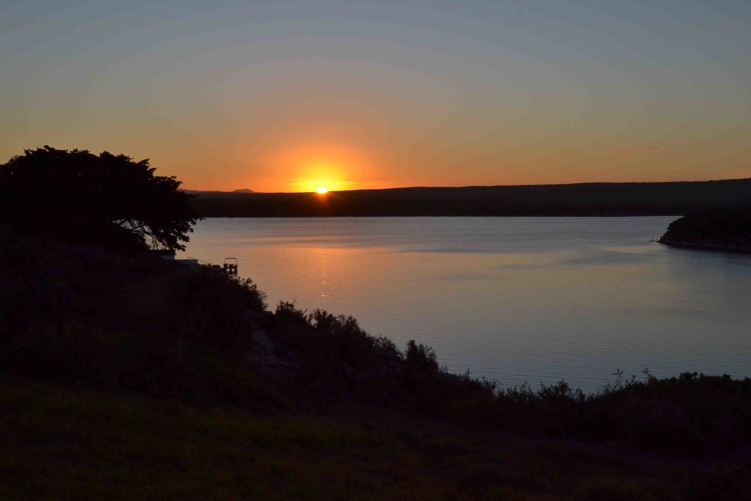 Sunset over the Vlei