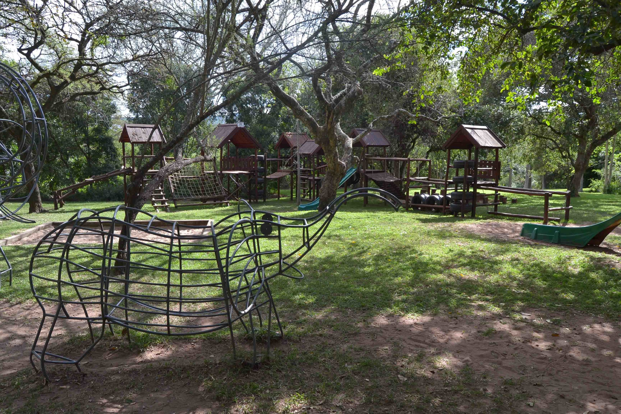 Playground at the Lowveld Botanical Gardens, near the Tea Garden