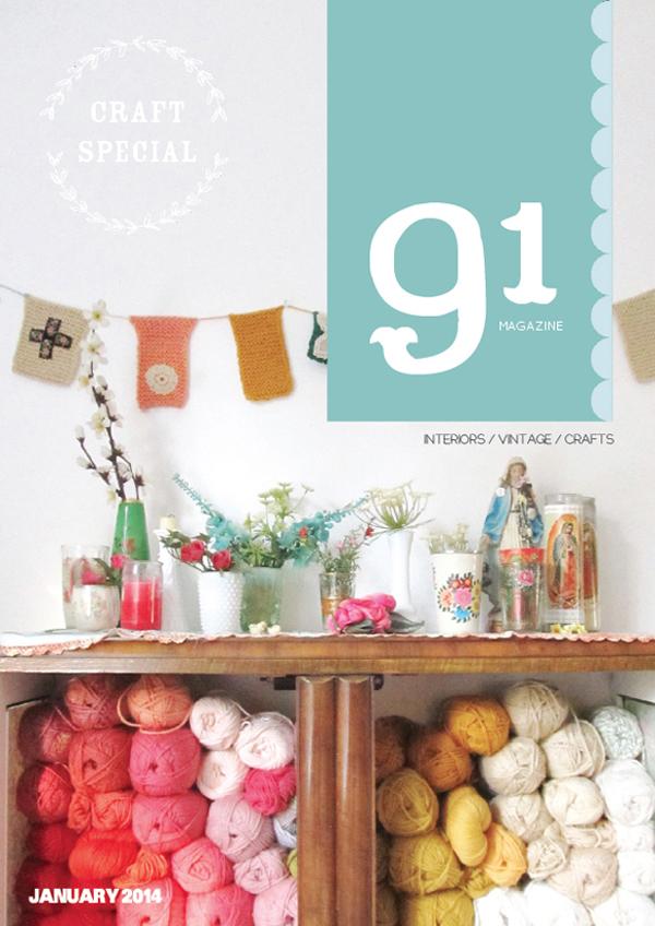 91 Magazine, Craft Special - January 2014 | Emma Lamb