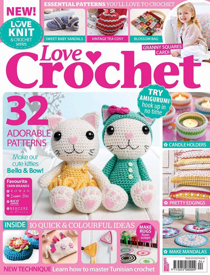 Love Crochet, Issue 08 - July 2014 | Emma Lamb