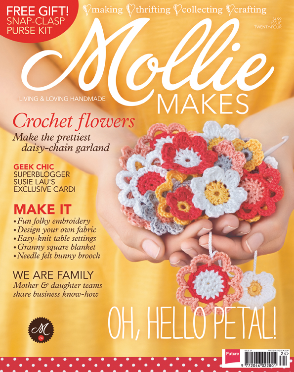 Mollie Makes, Issue 24 - February 2012 | Emma Lamb