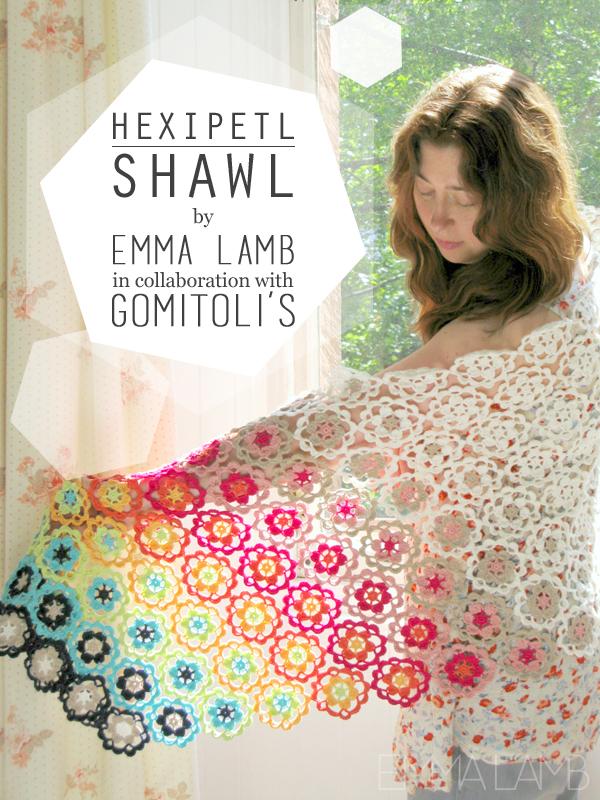 Hexipetl Shawl by Emma Lamb