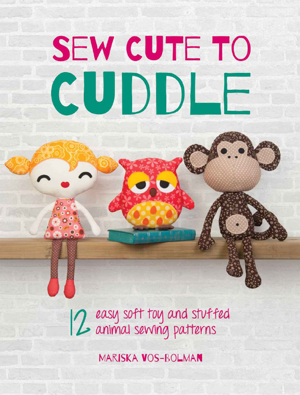 Good Reads : Sew Cute to Cuddle + a giveaway | Emma Lamb