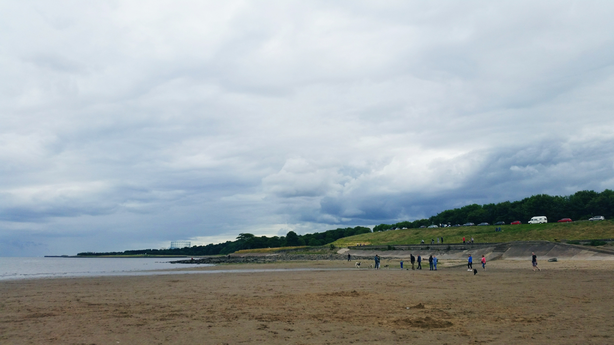 From Where I Stand - Cramond Beach | Emma Lamb