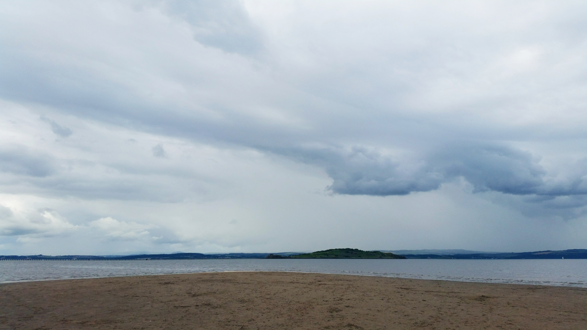 From Where I Stand - Cramond Beach looking out to Cramond Island | Emma Lamb