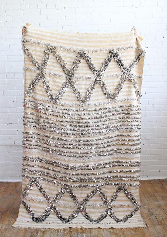 Handira wedding blanket - Baba Souk | Emma Lamb
