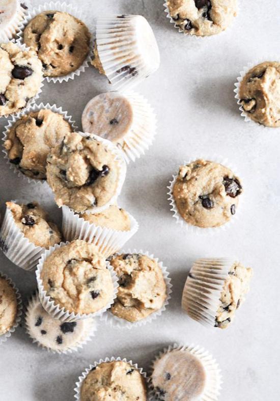Mini Whole Wheat Chocolate Chip Muffins - How Sweet It Is | Emma Lamb