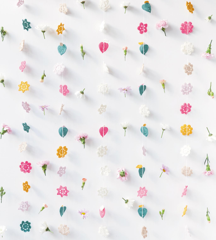 Flower Garlands from Crochet Home by Emma Lamb