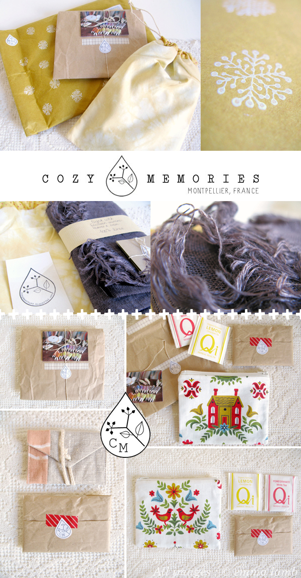 Eco-friendly handmade, one-of-a-kind homewares and accessories from Cozy Memories   Emma Lamb