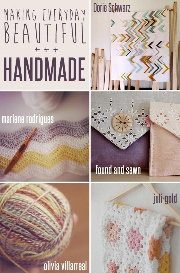 making everyday beautiful : handmade | Emma Lamb