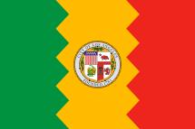 Flag of Los Angeles.