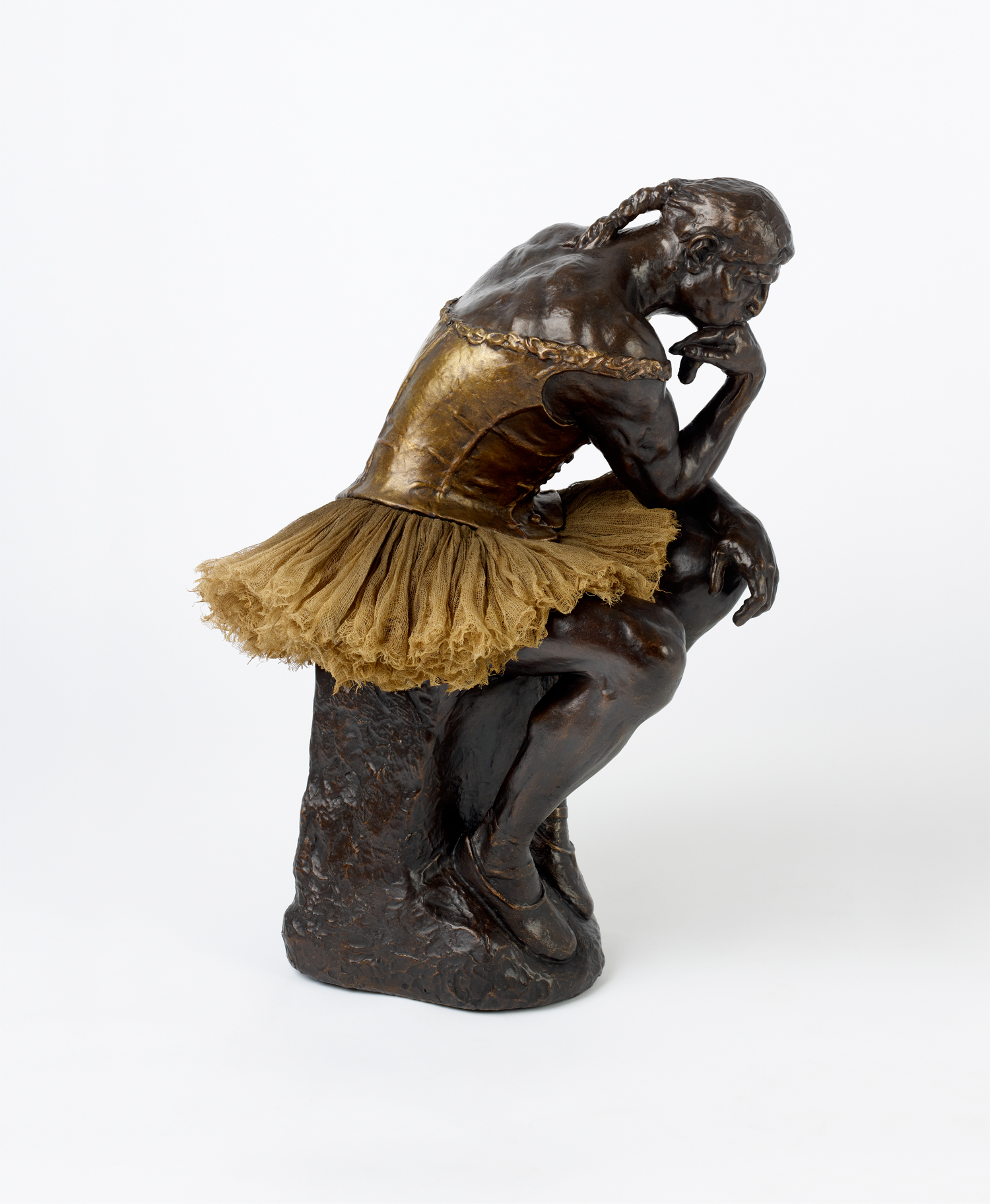 The Thinker (after Rodin/Degas)
