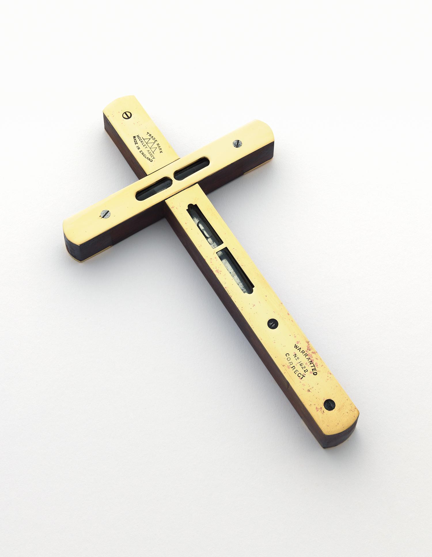 Spirit Level Crucifix