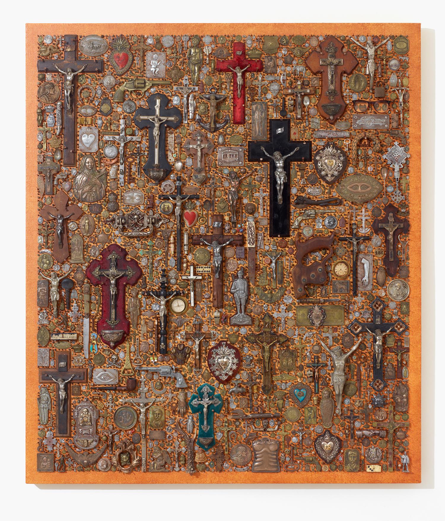 Artifact Board with Crucifix