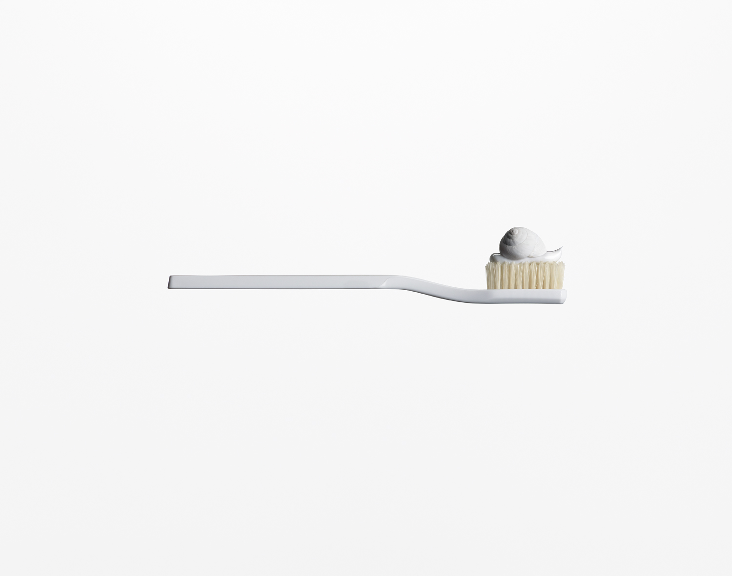 Toothbrush with Snail