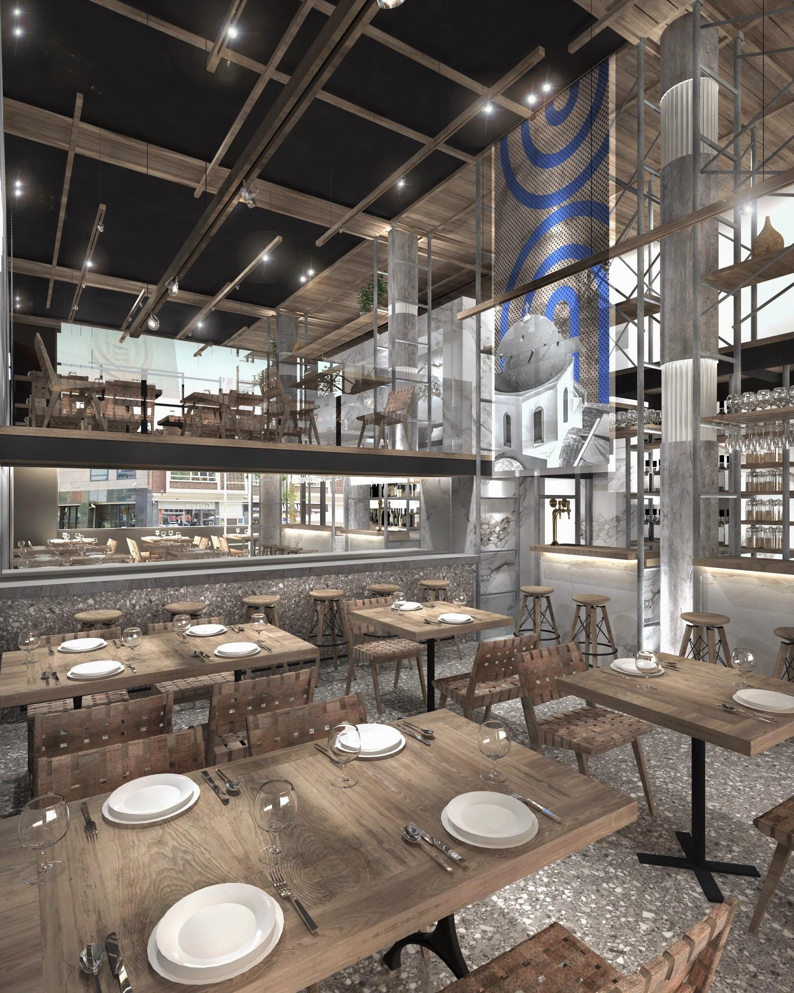 Olympia kitchen bar Rotterdam, Netherlands