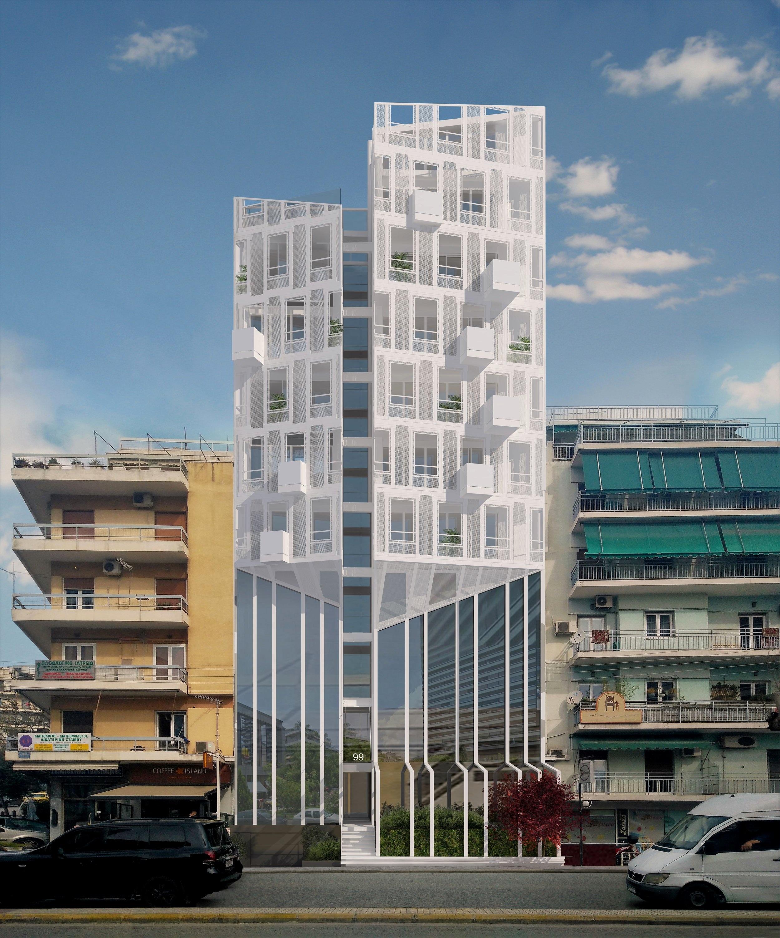 Zenobia  Multi-use building,  Athens , Greece