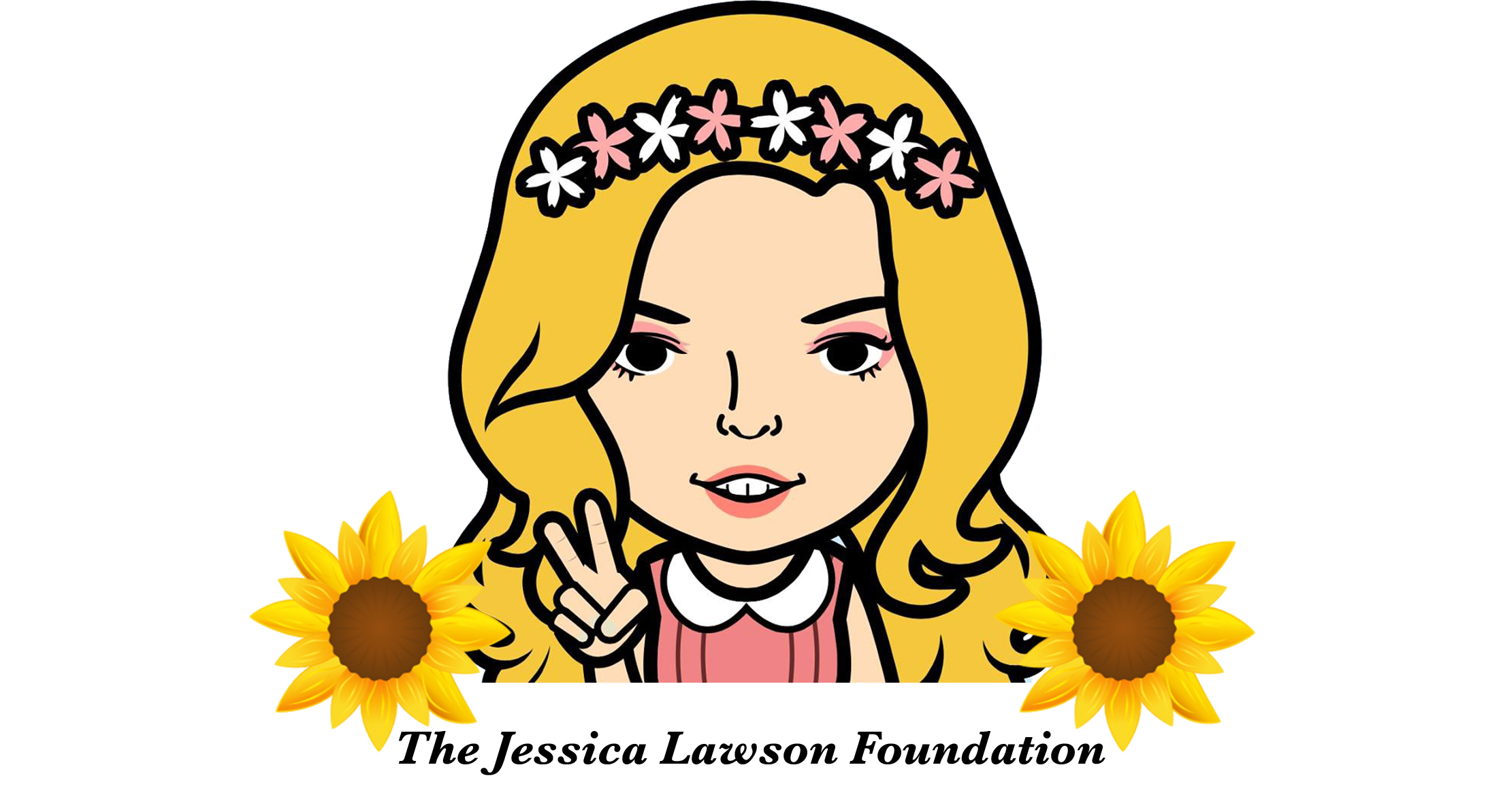 Jess created this icon of herself on her iPad.