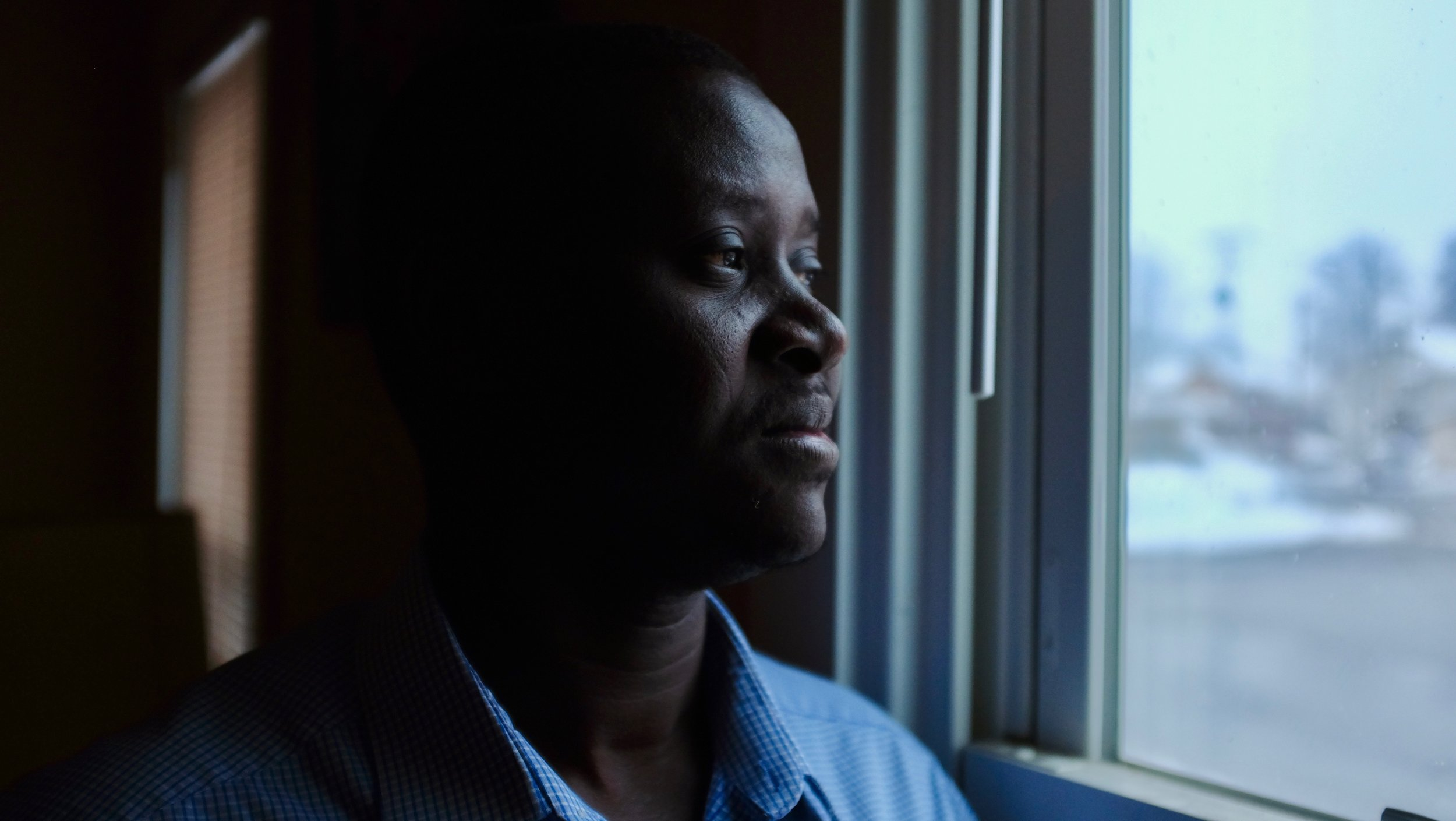 James Magot, a former  Lost Boy  refugee from Southern Sudan living in Lancaster, PA since 2001. James will portray a version of himself in our film,  Creek Don't Rise.