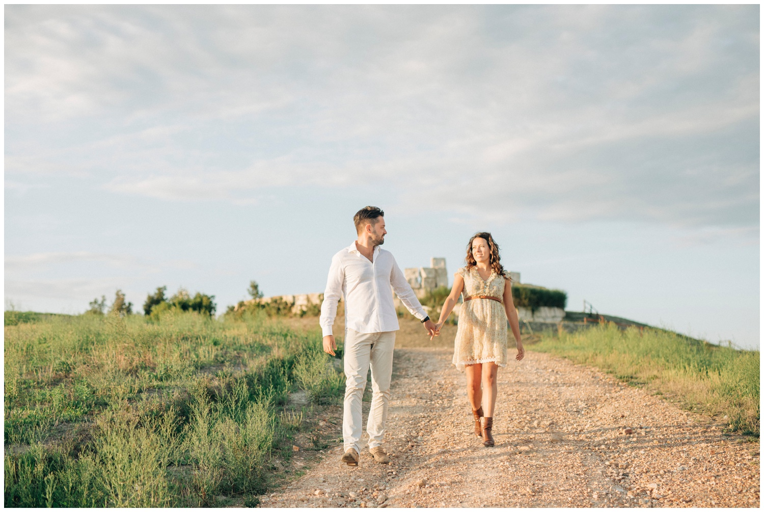 Engagement in Tuscany -