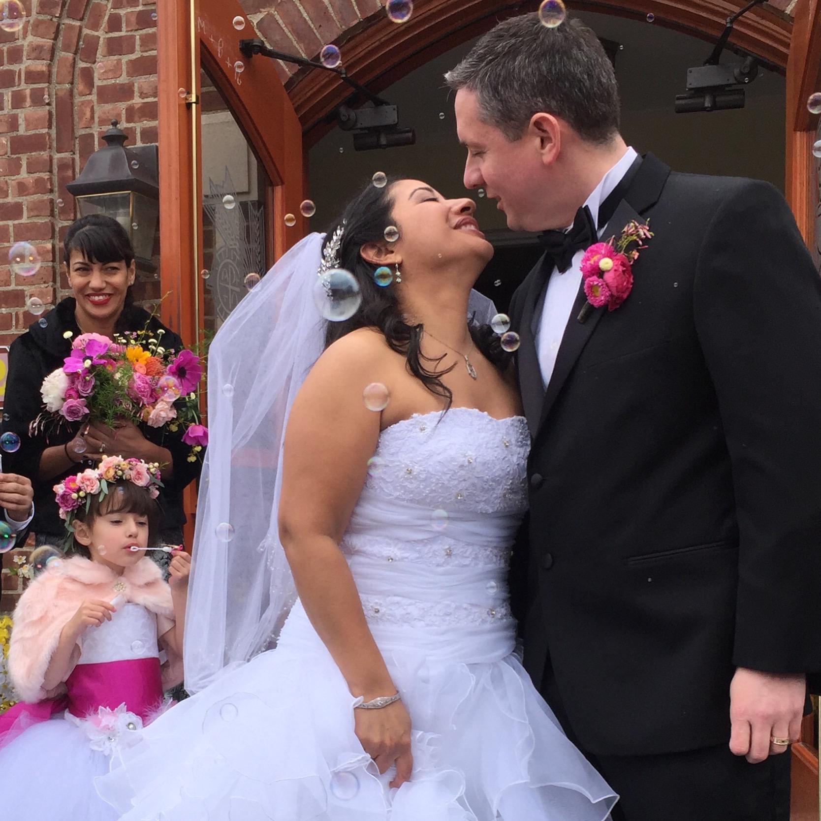 Happy Wedding Day, Liz. Happy True Love.