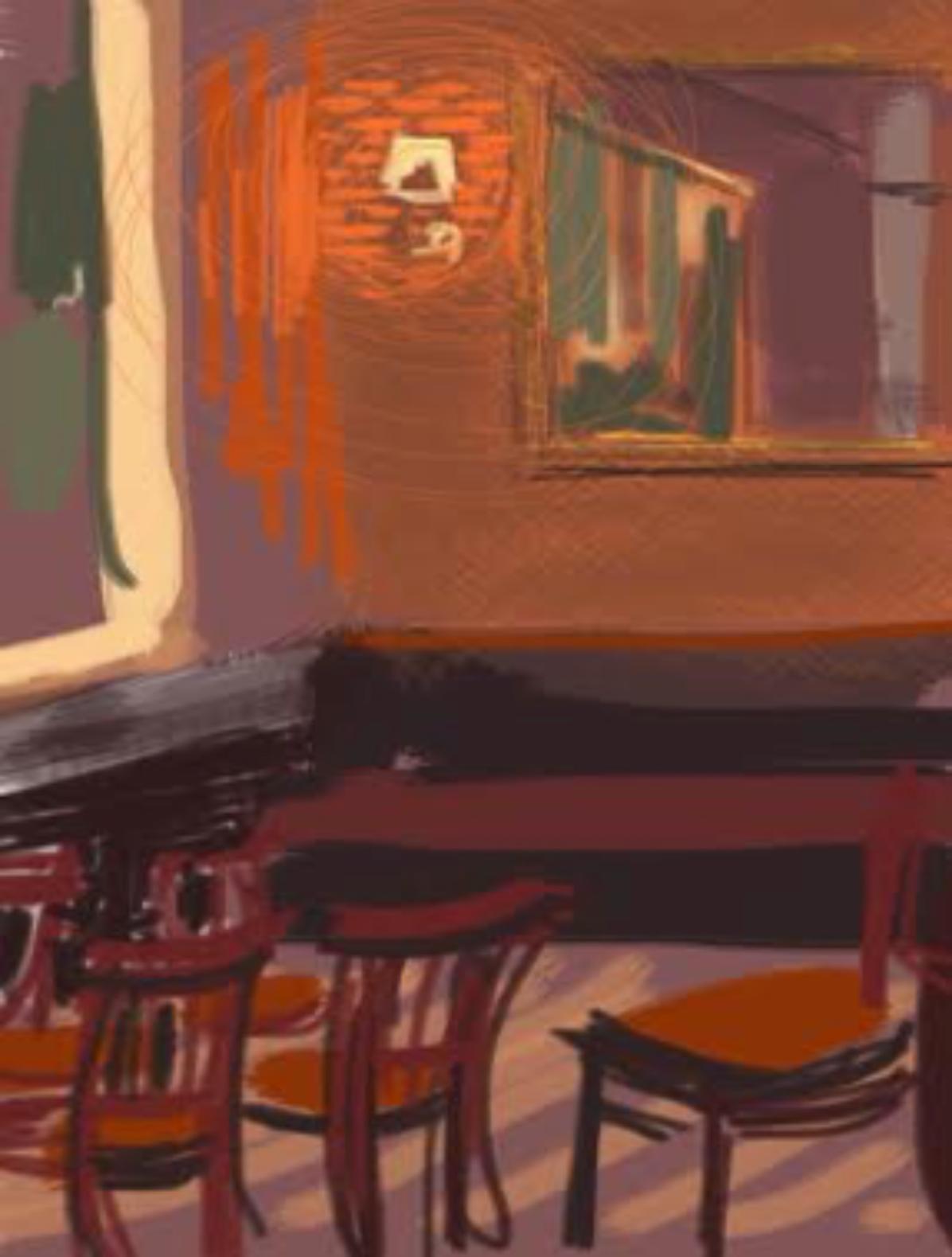 Empty Interior, Costa Coffee, Wimbledon