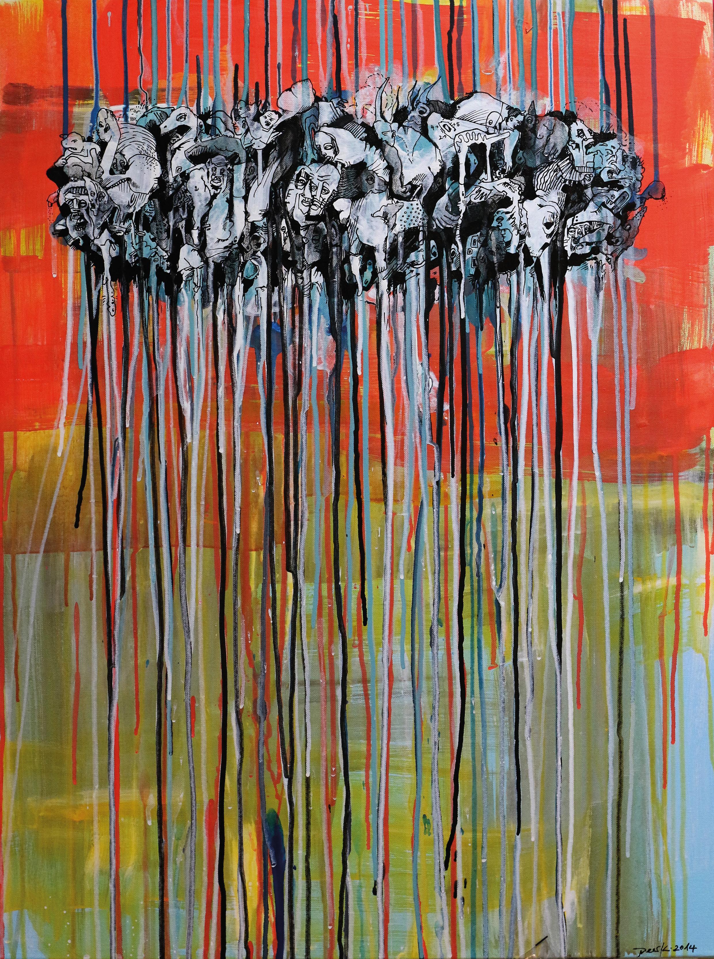 Vor dem ersten Wurf.Peer Kriesel.2014.80x60cm.Acrylic on Canvas.jpg