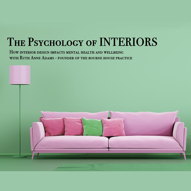 Psychology of Interiors - How your home affects yours and your family's wellbeing - Saturday 14th September - 11.00-12.00£10.00Your living environment is a direct extension of your mood and has an incredible impact on yours and your family's wellbeing. In this workshop you will learn about the basics of interiors psychology, from the therapy of de cluttering, to which colours are suited for your personal development. Touching on the ancient art of Feng Shui to produce areas which inspire mindfulness and calmness.