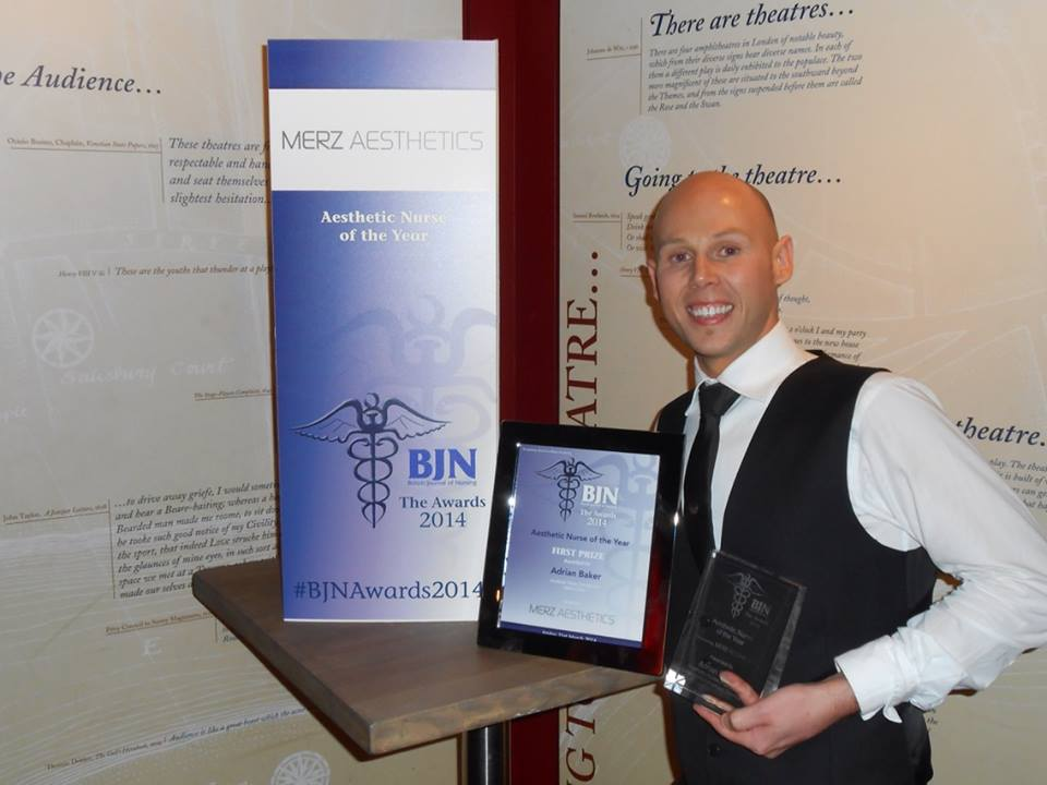 Award-Winning Aesthetic Nurse, Adrian Baker