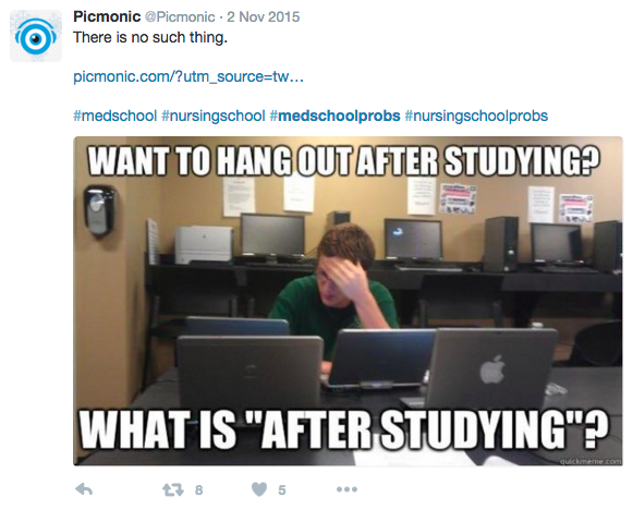 Funny med school tweets