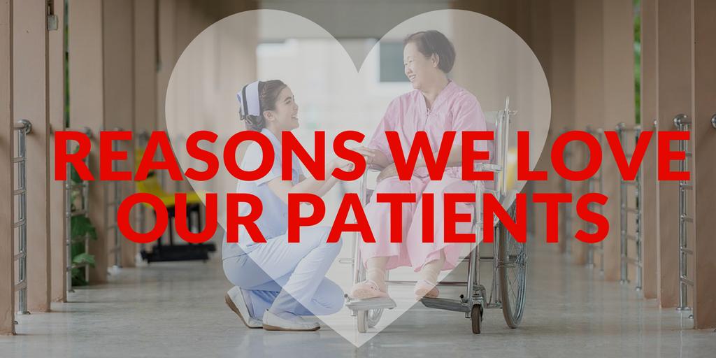 reasons we love our patients, patient appreciation, norfolk radiology, norfolk radiologists, norfolk open mri