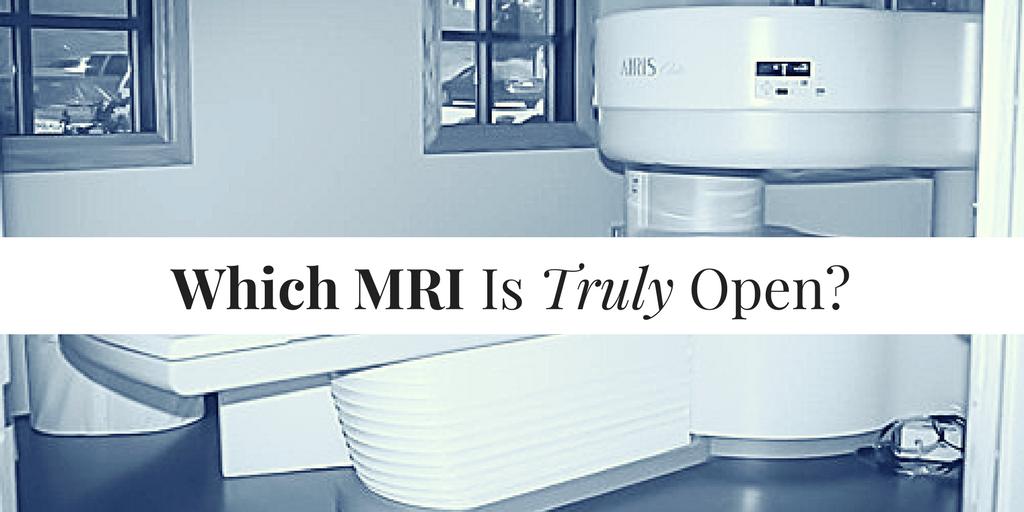 open MRI, open bore MRI, closed MRI, types of MRI scanners