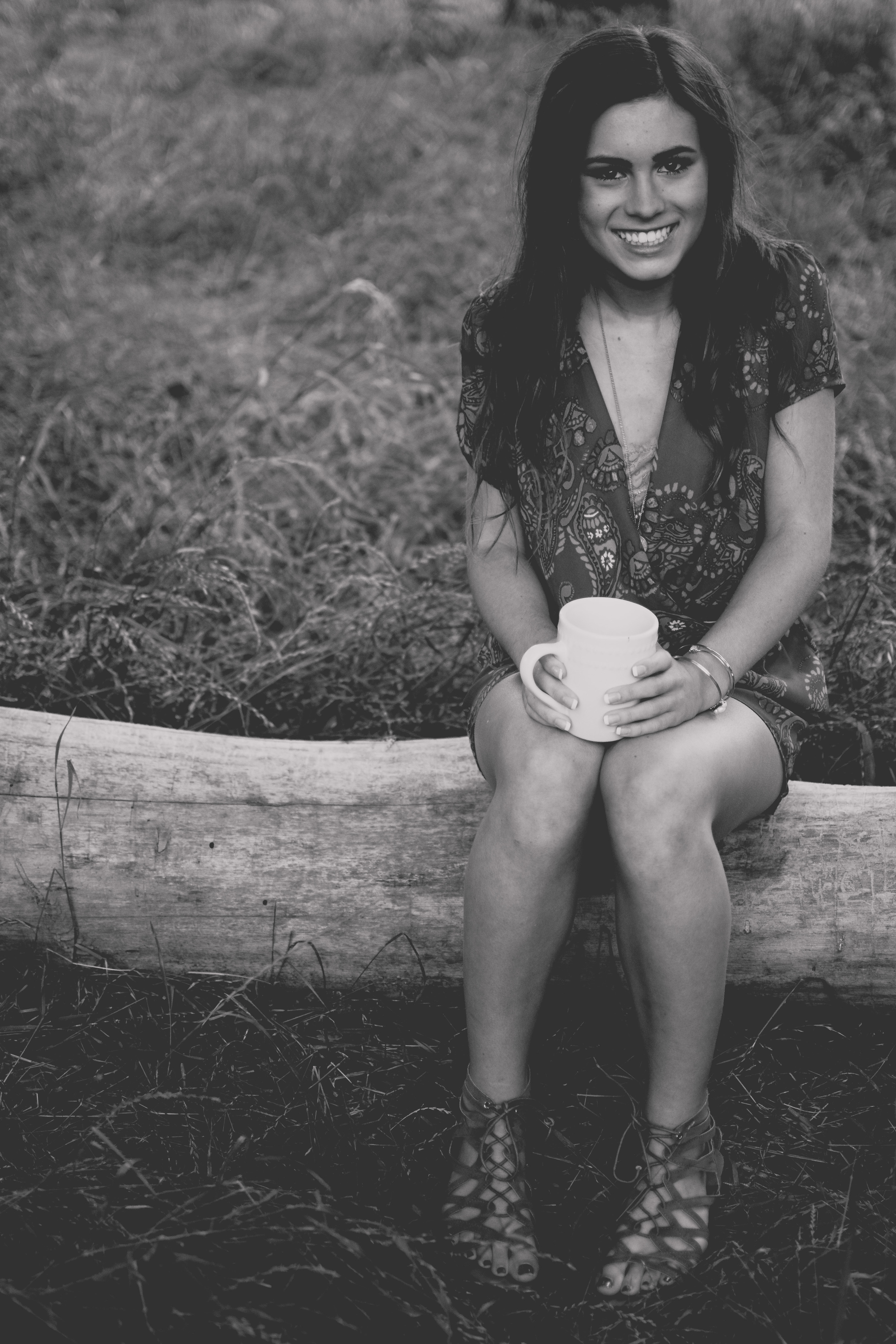 Landscape coffee photo