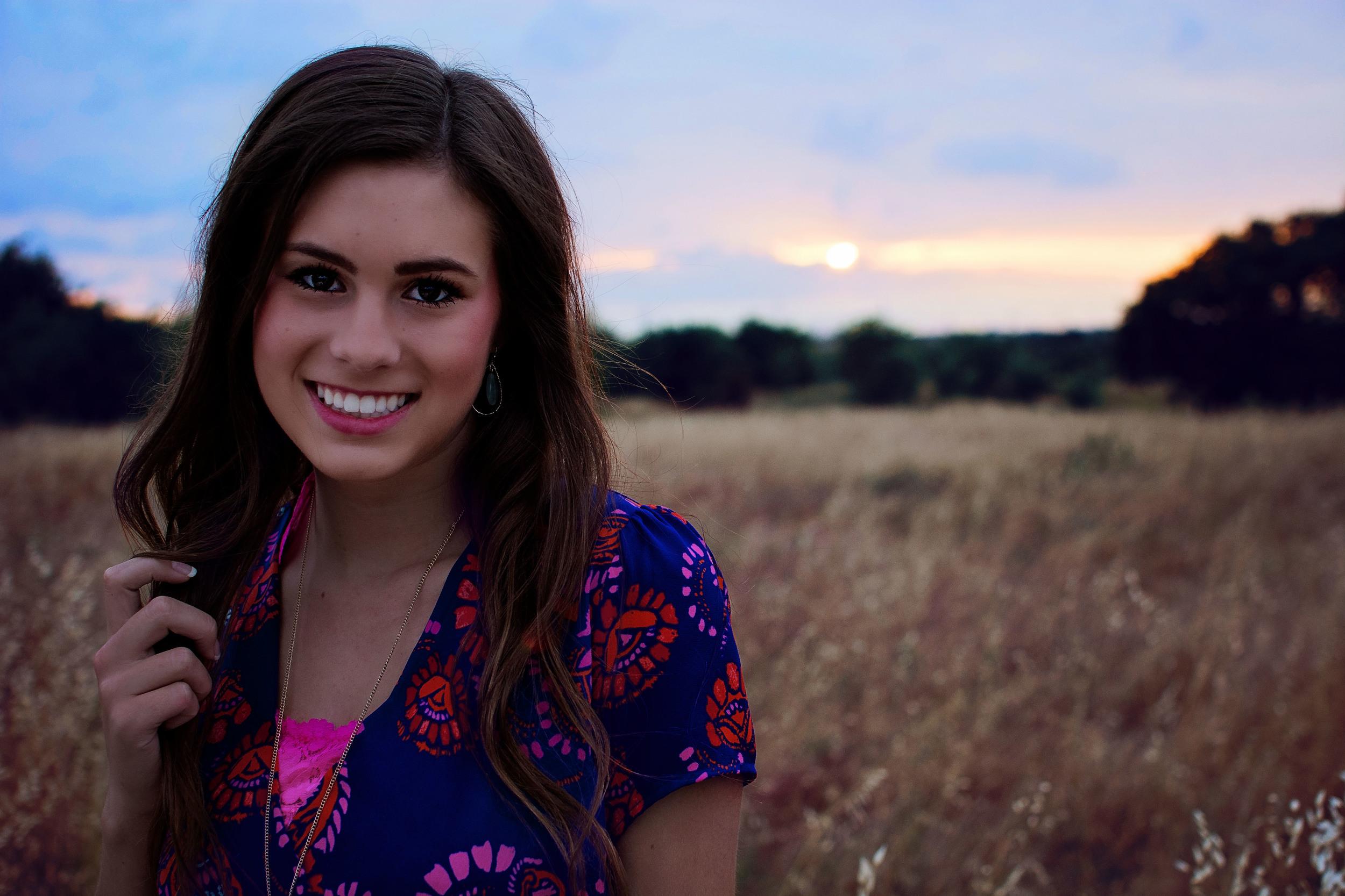 Senior Sunset Photography